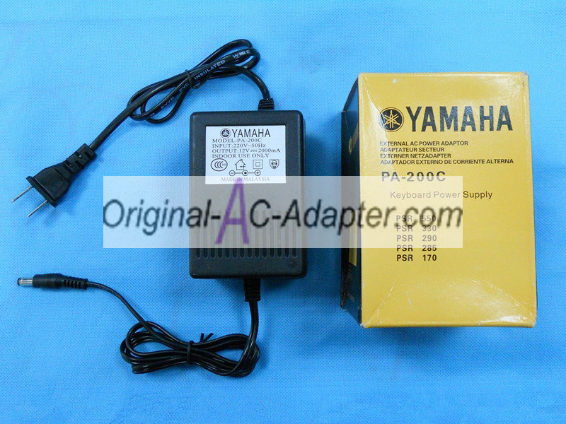 Yamaha EZ20 12V 2A Power AC Adapter