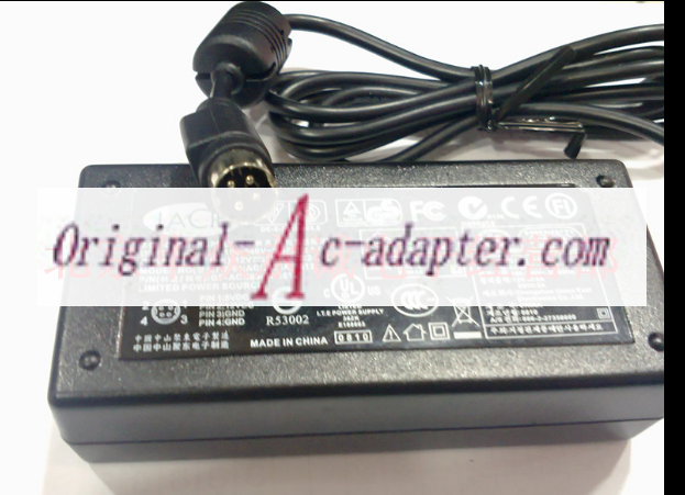 Cord 4-Pin 24V 6A AC Adapter For JVC LT-23X576 LCD TV Power Supply Charger PSU